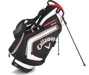 Callaway Chev Stand Bag 2016 - Black/White/Fire Red