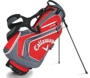 Callaway Chev Stand Bag 2016 - Red/Charcoal/White