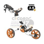 Clic Gear Cart Golf Trolley 3.5 White/Orange