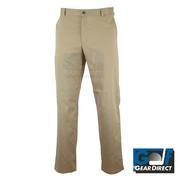 Dwyers & Co ChinoTec Khaki Trousers