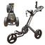 Powakaddy Twin Line 4 Push Cart, Black