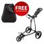 Big Max Blade Golf Push Trolley - Black