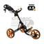 ClicGear Cart Golf Trolley 3.5 Charcoal/Orange