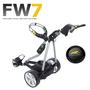 Powakaddy FW7 Electric Trolley Silver/Carbon Trim