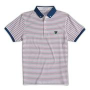 Lyle and Scott Mens Stripe Polo