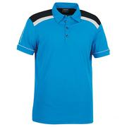 Galvin Green Micheal Golf Shirt White/Summer Sky/Black