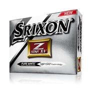 Srixon Z Star XV Pure White Golf Balls 2013