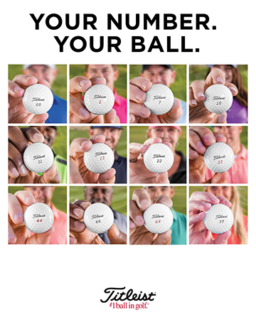 Titleist Special Play Number Golf Balls