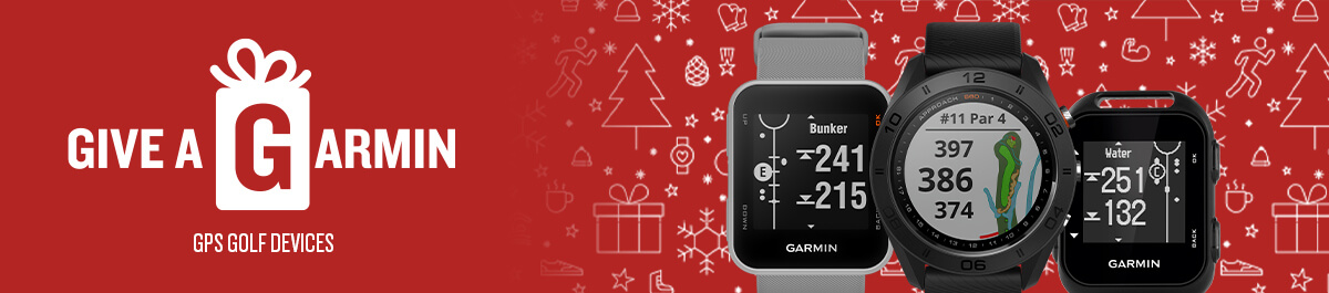 Give a Garmin here at Golfgeardirect.co.uk