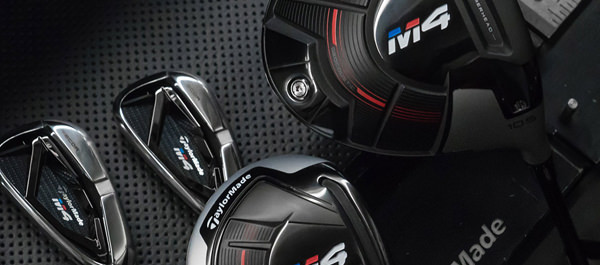 TaylorMade M4 Driver, Fairways, Rescues and Irons