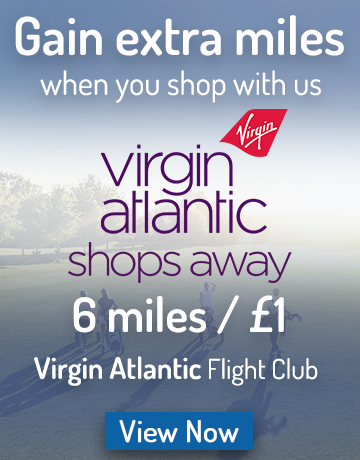 Gain Virgin Miles l Golfgeardirect