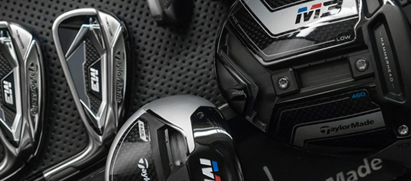 TaylorMade M3 Driver, Fairways, Rescues and Irons