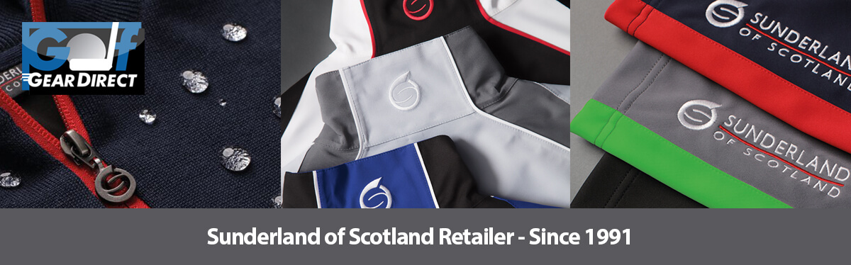 Sunderland of Scotland Golf Clothing - at Golfgeardirect.co.uk