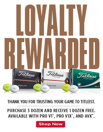 Titleist Ball Loyalty Promo 2019 - Golfgeardirect.co.uk
