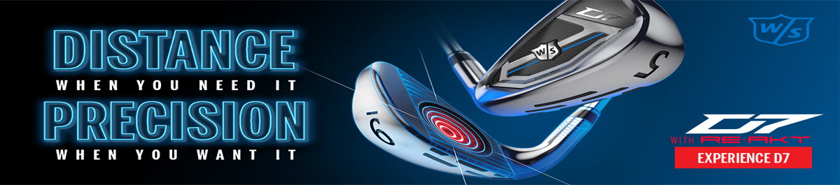 Wilson D7 Men's Irons at Golfgeardirect.co.uk