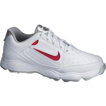 Nike Remix Junior Golf Shoes  White  Red UK 5.5 Medium