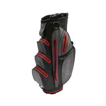 Ogio Aquatech Cart Bag 2018 - Black/Charcoal/Red