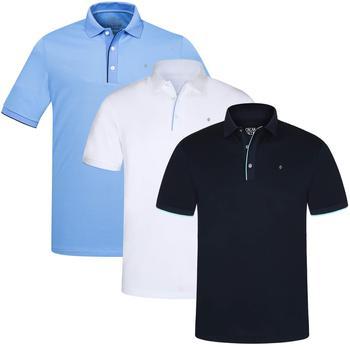 Oscar jacobson ivo pin golf polo shirt navy medium review for Vistaprint polo shirts review