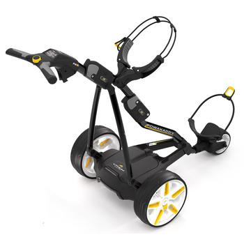Powakaddy FW5i Electric Golf Trolley  Black 18 Hole Lithium
