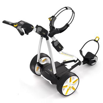 Powakaddy FW5i Electric Golf Trolley  White 18 Hole Lithium