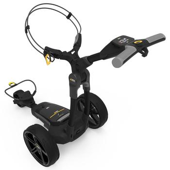 PowaKaddy FX3 Black Electric Golf Trolley 2020 - 18 Hole Lithium