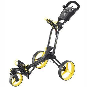 Big Max z360 Golf Push Trolley  BlackYellow