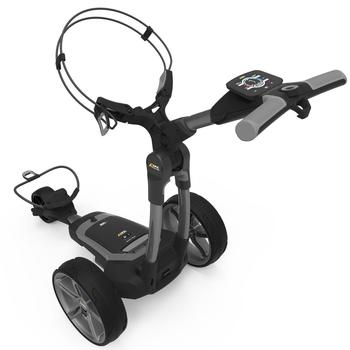 PowaKaddy FX7 Gun Metal Electric Golf Trolley 2020 - 18 Hole Lithium