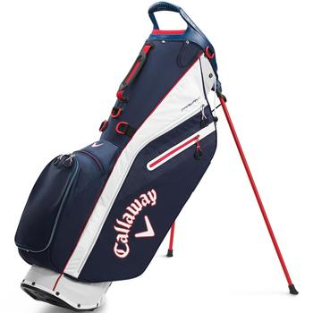 Callaway Fairway C Double Strap Golf Stand Bag 2020 - Navy/White/Red