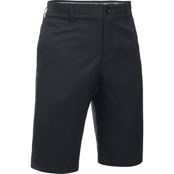 08a6db444d5 Under Armour Match Play Junior Shorts - Black Golfgeardirect.co.uk