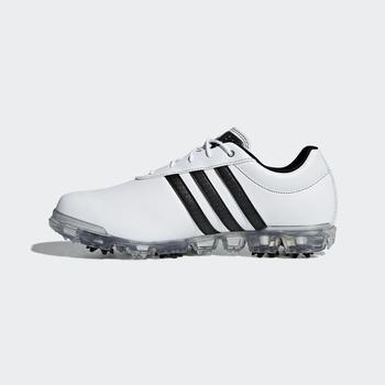 4b1b26f75fd6 Adidas Adipure Flex WD Golf Shoes - White Black UK 7