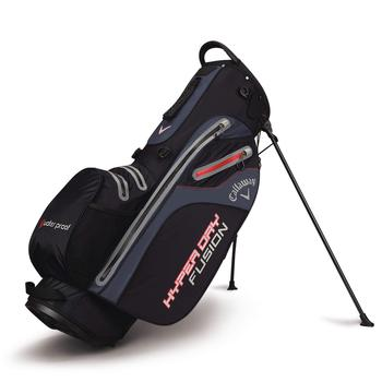 Callaway Hyper Dry Fusion Stand Bag 2018 - Black/Titanium/Red