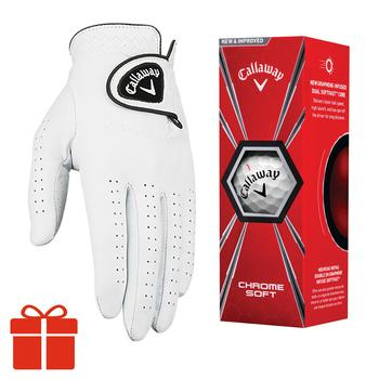 Callaway Glove and Ball Gift Pack Main