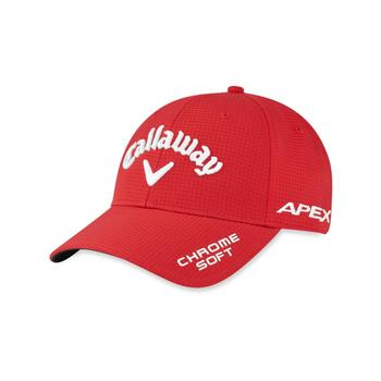 Callaway Tour Authentic Pro Adjustable Golf Cap 2020 - Red