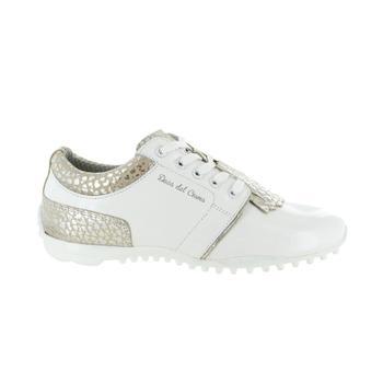 Duca Del Cosma Porto Ercole Ladies Golf Shoes - White Sand 9b77cebf6671