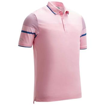 808c8205de64 Calvin Klein Engineered Stripe Bird Golf Polo - Prism Pink main