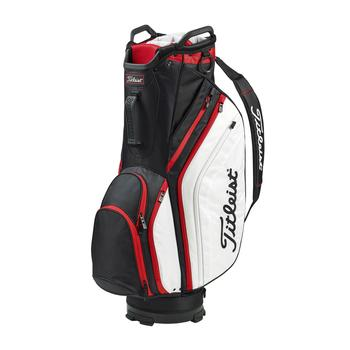 Titleist Lightweight Cart Bag 19 - Black/White/Red main