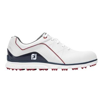 Mens Pro SL Golf Shoes 2019 - White/Navy/Red Main
