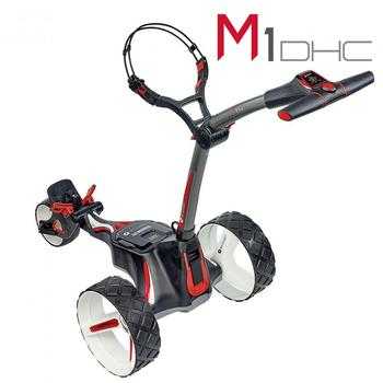 Motocaddy M1 DHC Graphite Electric Trolley 2019 - Standard Lithium