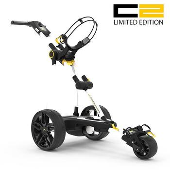 PowaKaddy Compact C2 Limited Edition Electric Trolley White - 18 Hole Lithium