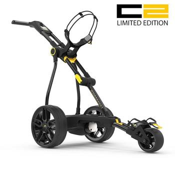 PowaKaddy Compact C2 Limited Edition Electric Trolley Black - 18 Hole Lithium