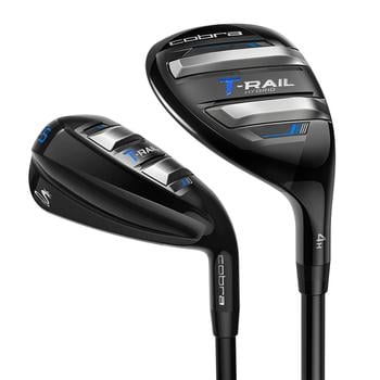 Cobra T-Rail Combo Golf Irons - Steel