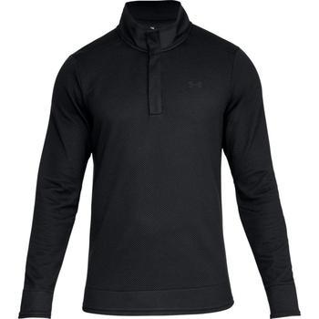 unique design meticulous dyeing processes speical offer Under Armour Storm SweaterFleece Snap Mock - Black