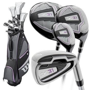 Wilson X31 Golf Package Set 2019 - Ladies