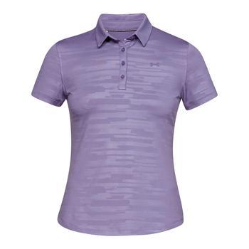 Under Armour Womens Zinger Novelty Short Sleeve Polo