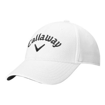 Callaway Side Crested Golf Structured Cap - Bright White