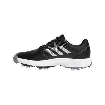 5810d70076d Adidas Junior CP Traxion Golf Shoes - Black Silver White