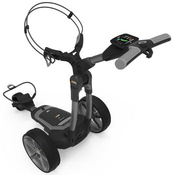 PowaKaddy FX7 GPS Gun Metal Electric Golf Trolley 2021 - 18 Hole Lithium