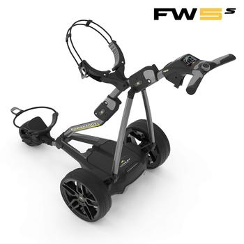PowaKaddy FW5s Electric Golf Trolley 2018 - Gun Metal Main