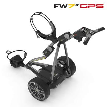 Powakaddy FW7s GPS Electric Golf Trolley 2019 - Extended Lithium