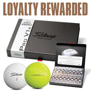 Titleist Pro V1x Non-Personalised Golf Balls Offer (4 FOR 3)